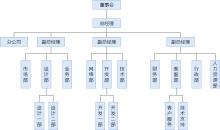 科技公司组织结构图